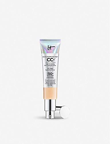 It Cosmetics CC+ Cream SPF 50 Full Coverage, (Light) 1.08 oz/ 32 mL