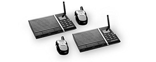Samcom Digital Wireless 10- Channel Intercom with Small Walk