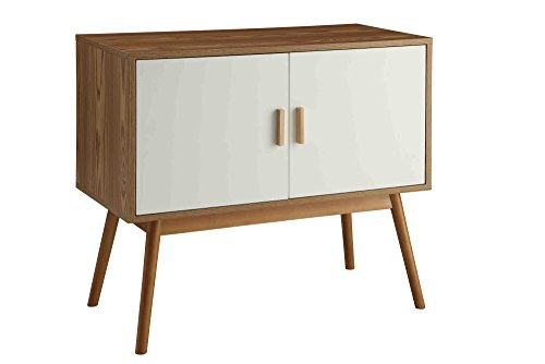 Storage Modern Media Set - Convenience Concepts 203199 Oslo Storage Console, White