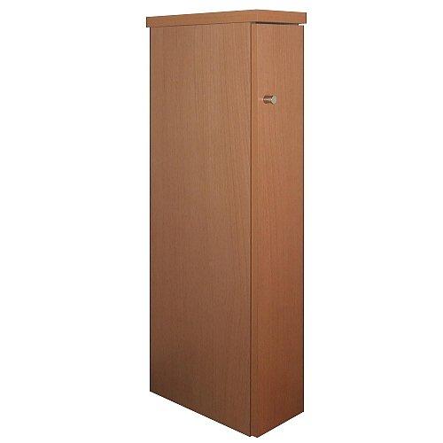 家具製造直販TAICHI 薄型スリムルーター収納キャビネット/ナチュラルブラウン B019DDZPV8  ナチュラルブラウン