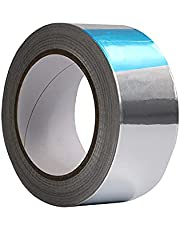 30 Meter Aluminium Tape, Aluminium Tape voor Hoge Temperaturen, Geleidende Aluminium Tape, Gebruikt om Buizen of Andere Elektronische Accessoires af te Dichten(Zilver)
