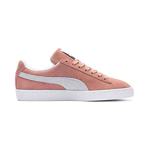 Puma White Muted Unisex Clay Erwachsene Classic Sneaker puma Suede gqgprF4w