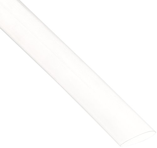 NTE Electronics 47-20806-CL Heat Shrink Tubing, Thin Wall, 2:1 Shrink Ratio, 1/2