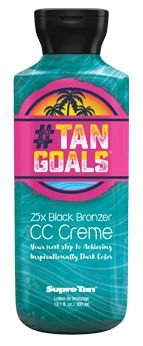 Supre # Tan Goals 25x Bronzer Tanning Lotion 8.5 oz.