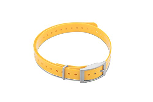 Garmin 3/4-Inch Collar Strap Square Buckle for Delta Series - Yellow Collar Strap