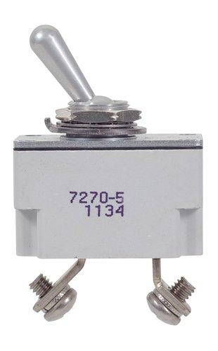 Electrical & Test Equipment-7.5 Amp Klixon Circuit Breaker 7270-5-7.5