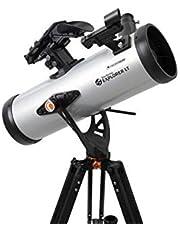 Celestron – StarSense Explorer LT 114AZ Smartphone App-Enabled Telescoop – Werkt met StarSense-app om u te helpen bij het vinden van sterren, planeten en meer, 114mm Newtonian Reflector – iPhone/Android Compatibel