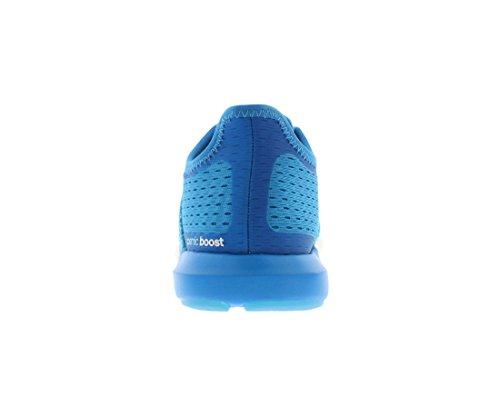 Adidas Mens Cc Cosmic Boost Blu Solare / Nero Nero M Scarpa Da Corsa Solare Blu / Nero