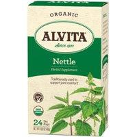 2 Packs of Alvita Teas Organic Herbal Tea Bags - Nettle Leaf - 24 (Alvita Teas Nettle Leaf Tea)