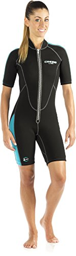 Cressi Lido Short, Black/Aquamarine, 3/M ()