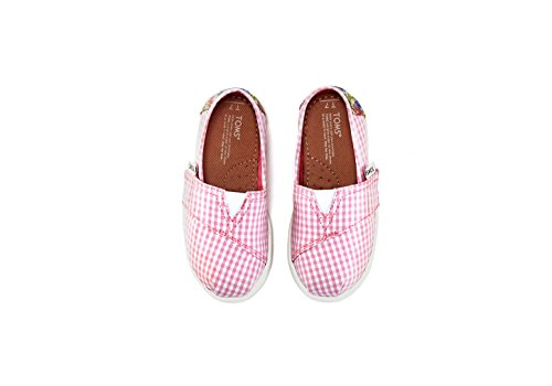 Toms Toddlers Tiny Classic Pink Casual Shoe 2 Infants US