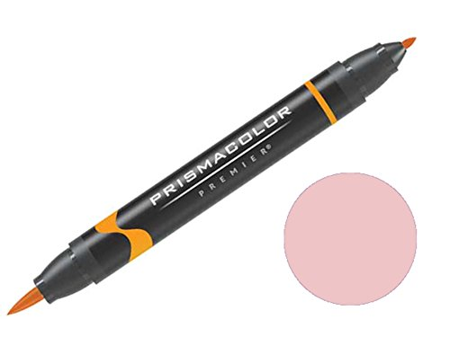 Prismacolor Premier Double-Ended Brush Tip Markers Ballet Pink 208 (1773188)
