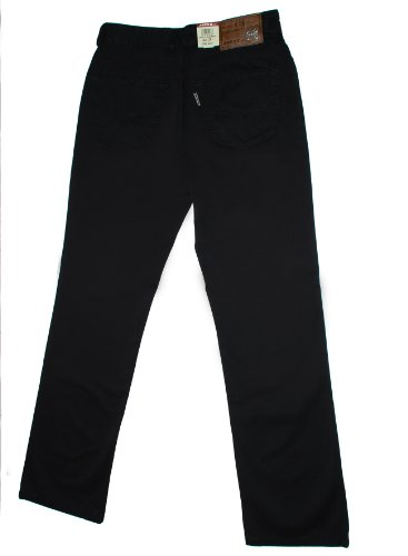 JOKER Jeans Harlem Walker Gabardine schwarz, Beinlänge 32, Weite 34