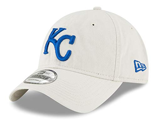 New Era Kansas City Royals MLB 9Twenty Core Classic Stone Adjustable Hat -