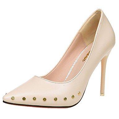 UK4 Mujer Flip amp;Amp; Heelblack Chunky EU37 De US6 Pu Confort Zapatillas Flops Verano 7 Blanco Casual Caminar 5 RTRY CN37 5 5 qtEIUPwv