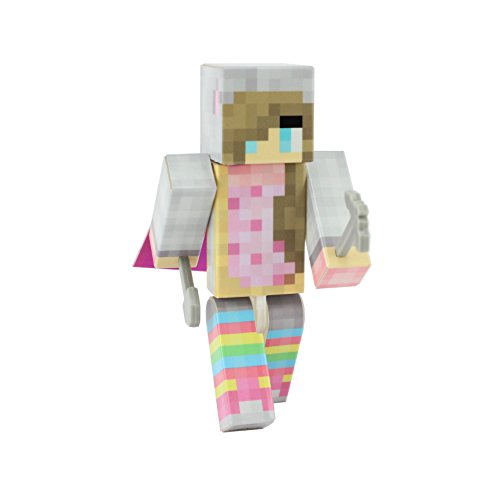 Nyan Cat Costume (Nyan Girl Action Figure Toy, 4 Inch Custom Series Figurines by EnderToys)