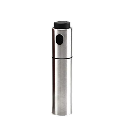 JIA-WALK 100 Ml Stainless Steel Oiler Oil Spray Bottle Portable Fuel Injector Sprayer Pot Kitchen Gravy Boats Spraying BBQ Tools ()