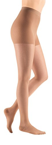 (mediven Sheer & Soft, 30-40 mmHg, Maternity Pantyhose, Closed Toe)