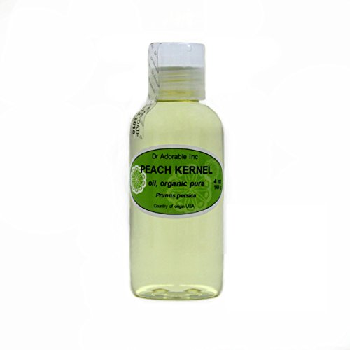 Peach Kernel Oil 100 % Pure Organic 4 Oz ()