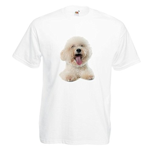 - Bichon Frise Dog Image White Standard T-Shirt