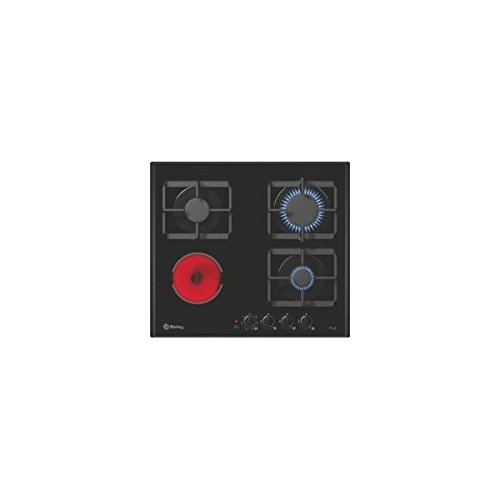 Balay 3ETG393BP hobs Negro Integrado Encimera de gas: Amazon ...