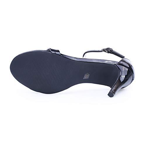 Donna Alla Caviglia Col 6 nbsp; Urtjsdg nbsp;cinturino Sandali Scarpe Alto Con Cinturino Con Tacco nbsp; ZInvzB
