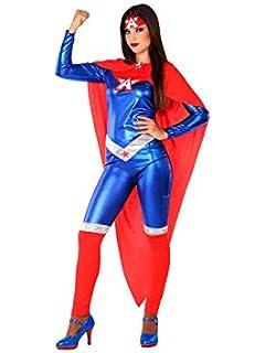 QQWE Capitán Marvel Disfraces de Disfraces Sorpresa Capitán Mono ...