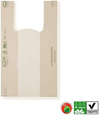 Bolsas biodegradables y compostables – Bolsas Shoppers con mango a ...