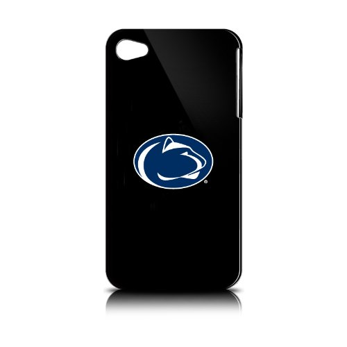Penn State Nittany Lions iPhone 4 Case: Black Shell
