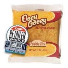 Prairie City Bakery Ooey Gooey Butter Cake -- 60 per case. (Best Gooey Butter Cake St Louis)