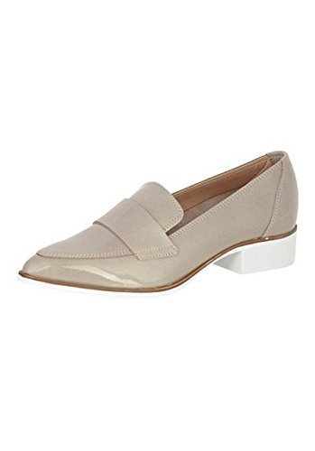 Mocasines de Piel charol de Best Connections - Crudo, mujer, 42 EU: Amazon.es: Zapatos y complementos