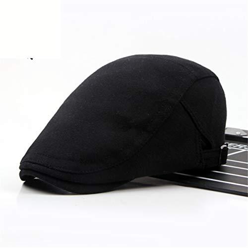 sólido Color E Hombres Pato algodón Sombreros Bailey Gorra GLLH de Sombrero D para qin de de hat Lengua XqTwxAfY
