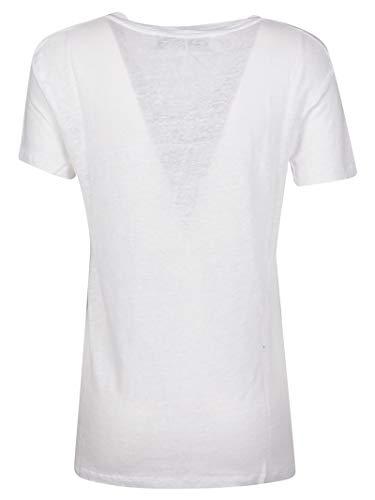 Iro T shirt Lino Wp19libbywhi12 Mujer Blanco rwOx4qrPI
