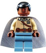 Lando Calrissian (General Outfit) - LEGO Star Wars - 7754 Lego