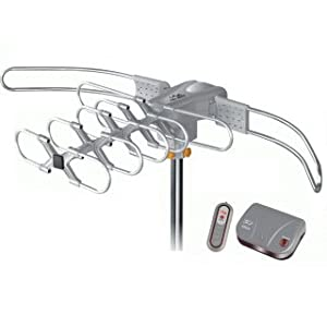 LAVA UHF/VHF Outdoor HDTV Antenna with Motor Rotor HD-2805