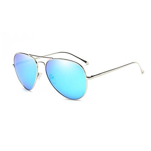 Sol Femenino Anti de Conducción Metal C4 Aire polarizada de de Viaje de Sol Cómodo Color C5 Gafas Ultravioleta Espejo luz al y Libre Masculino de Moda Gafas H5qExwBA