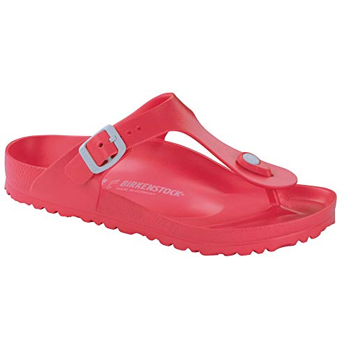 Birkenstock Kid's Gizeh Coral EVA Nubuck Sandals 33 N EU (2-2.5 US Little -