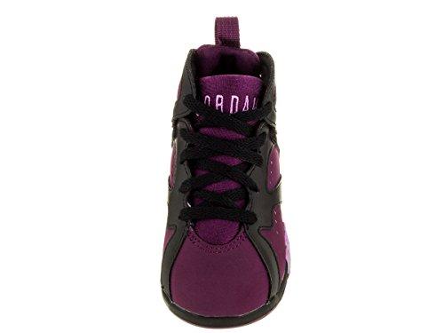 Nike Jordan Småbørn Jordan 7 Retro Gt Sort / Fchs Glød / Mulbrry / Wlf Gry Basketball Sko 10 Spædbørn Os OfWUKKhH