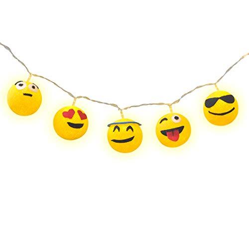 Luminária Decorativa Emojis Cormilu Multicor