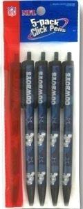 Dallas Cowboys NFL 5 Pack Pen Set]()