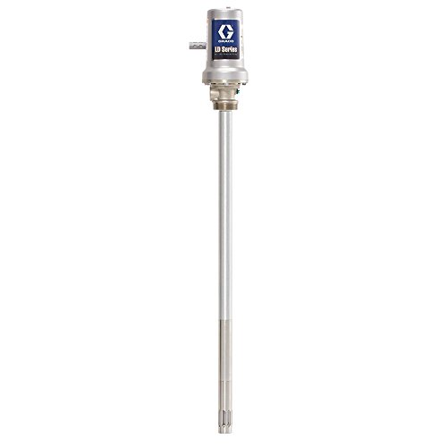 Graco 24G603 LD Series Air-Powered 50:1 Universal Grease Pump for 120 lb Drum, Black/Grey ()