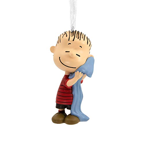 (Hallmark Christmas Ornaments, Peanuts Linus Hugging Blanket Ornament)