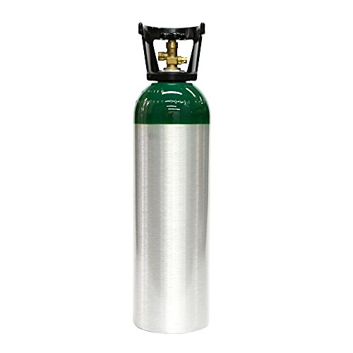 New 60 cu ft Aluminum Oxygen Cylinder with CGA540 (Steel Oxygen Cylinders)