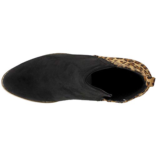 Black Shield Ladies Womens Corkys Bootie Leopard Footwear 6 wUYCp