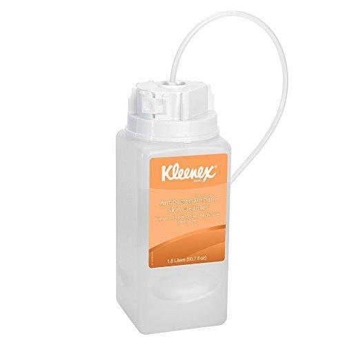 Kimberly-clark Kleenex Antibacterial Foam Skin Cleanser, ...