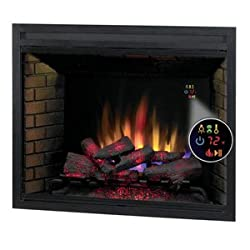 Pro Electric Fireplaces 39eg500-gra Electric Fireplace With Led Fixed Tempered Glass Panel from Projectorshop24 442450683