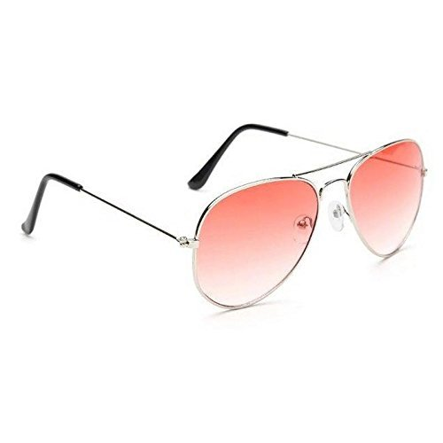 be863e5af9 ... UV PROTECTED NEW DESIGNED RED AVIATOR SUNGLSSES WITH 1 HARD CASE  COVER(PACK OF 1 SUNGLASS WITH CASE COVER SUN 0015)  Amazon.in  Clothing    Accessories