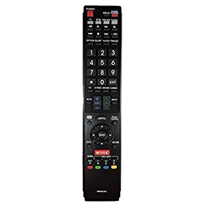 GOLDENRIVER E0-Class Material GB005WJSA Replacement Remote ControlCompatible with Sharp Smart TV HDTV 3D LCD LED