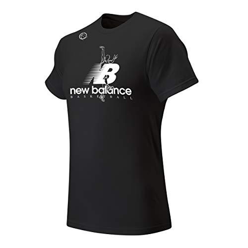 New Balance The Shot Tee, Black, X-Large