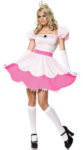 Leg Avenue Women's Pink Princess Costume, Pink, Medium ()